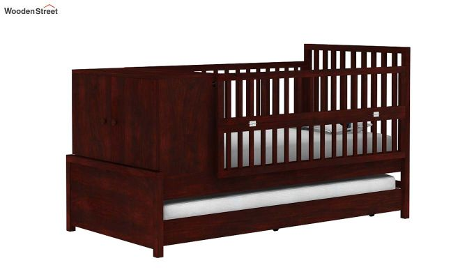 Carson Kids Trundle Bed With Crib-2