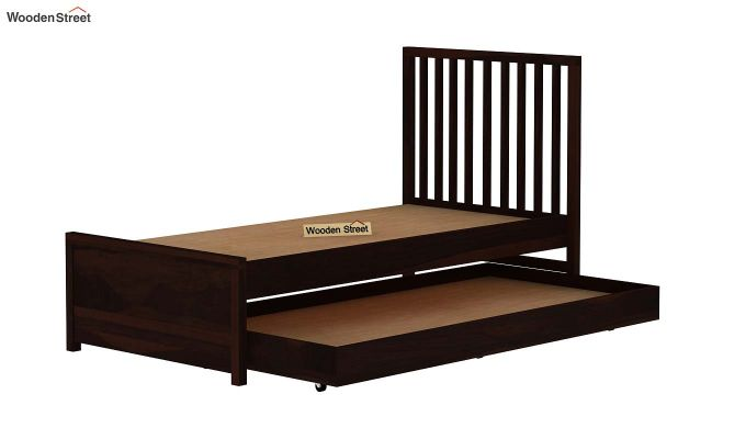 Carson Kids Trundle Bed With Crib (Walnut Finish)-8
