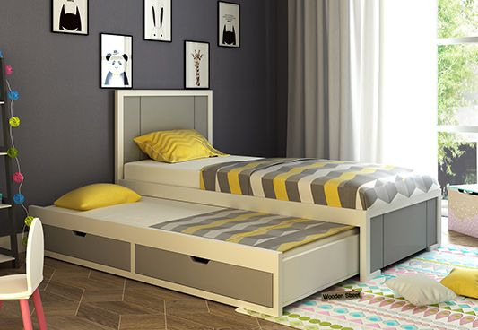 trundle kids bed online India