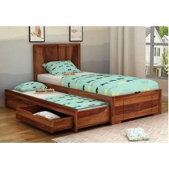 Gary Kids Trundle Bed With Storage