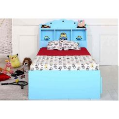 Pearl Kids Bed With Storage (Blue)