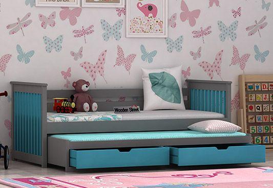 Wooden Kids Trundle Bed Online