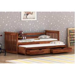 Sierra Kids Trundle Bed With Storage