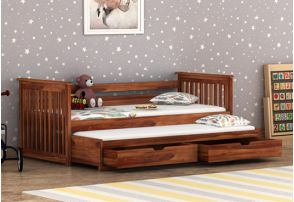 Trundle Beds Buy Wooden Trundle Bed Online Upto 55 Off