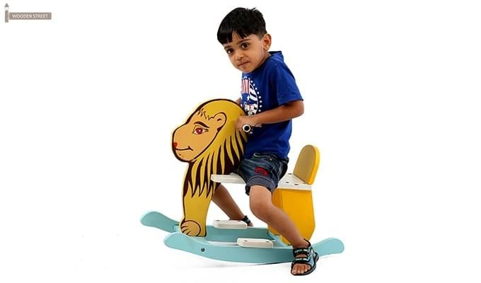 Cruise Kids Rocking Chair (Yellow)-1