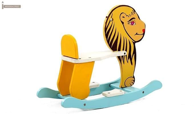 Cruise Kids Rocking Chair (Yellow)-3