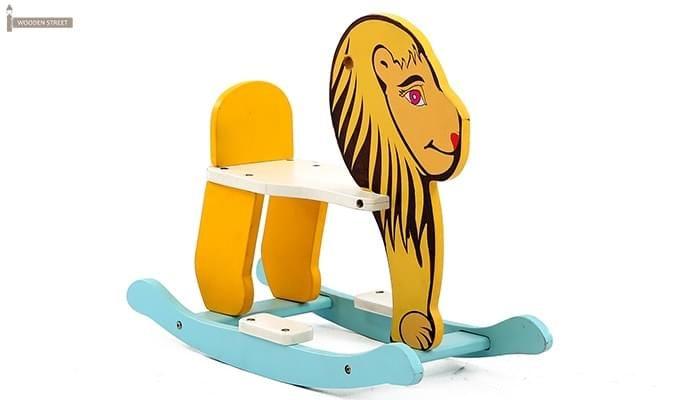 Cruise Kids Rocking Chair (Yellow)-4
