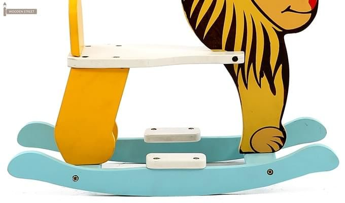 Cruise Kids Rocking Chair (Yellow)-5