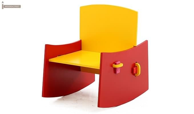 Zinnia Kids Chair (Red)-1