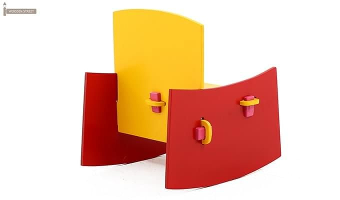 Zinnia Kids Chair (Red)-4