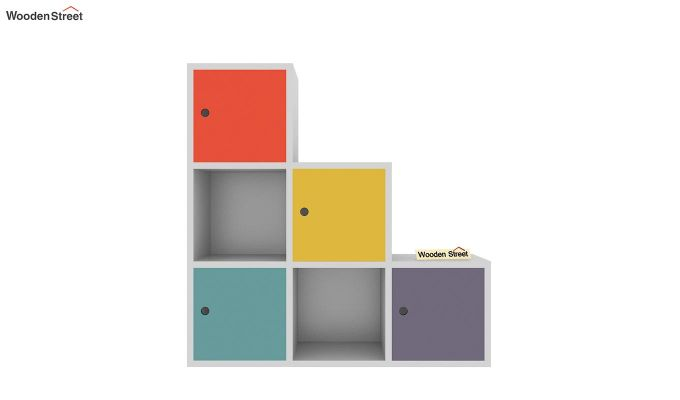Wykin Kids Storage Unit (Multi Color)-3