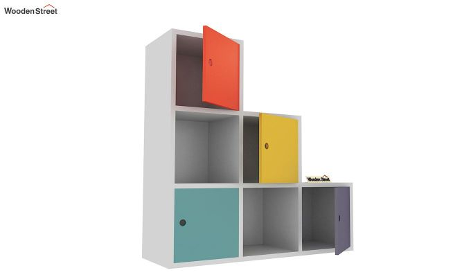 Wykin Kids Storage Unit (Multi Color)-4
