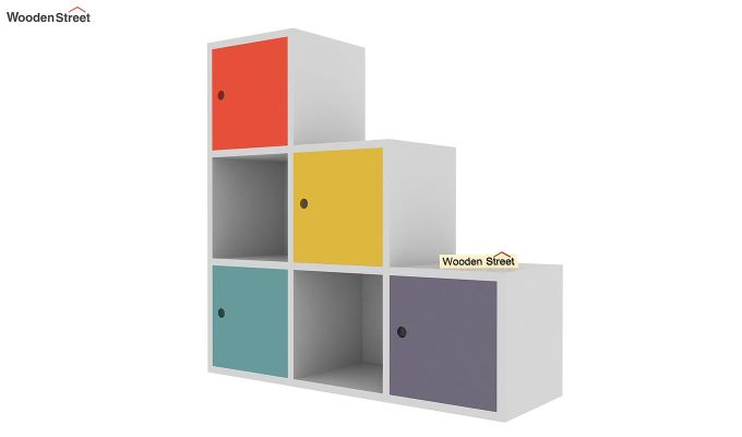 Wykin Kids Storage Unit (Multi Color)-5