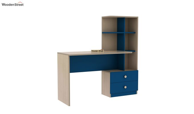 Candyland Kids Study Table (Electric Blue)-2