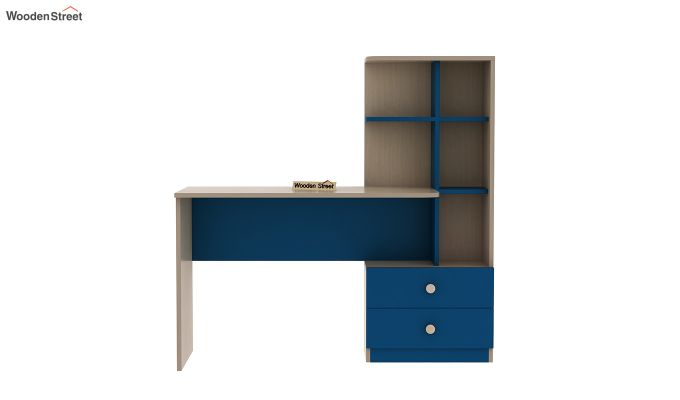 Candyland Kids Study Table (Electric Blue)-3