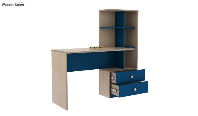 Candyland Kids Study Table (Electric Blue)-4