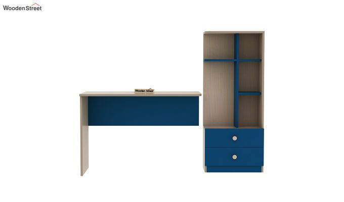 Candyland Kids Study Table (Electric Blue)-5