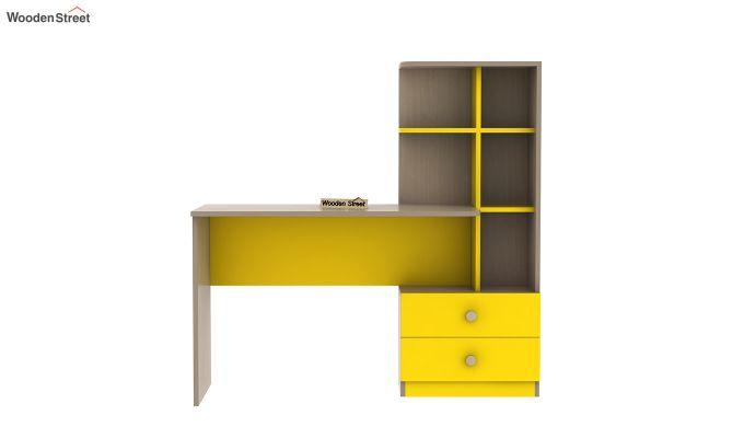 Candyland Kids Study Table (Marigold Yellow)-3