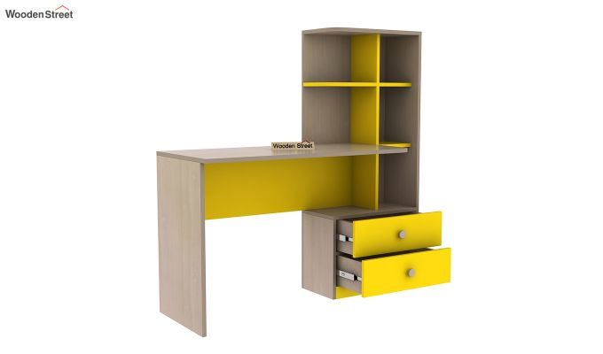 Candyland Kids Study Table (Marigold Yellow)-4