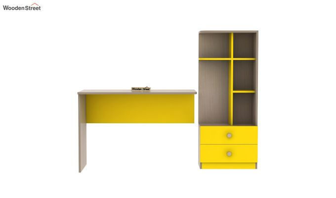 Candyland Kids Study Table (Marigold Yellow)-5