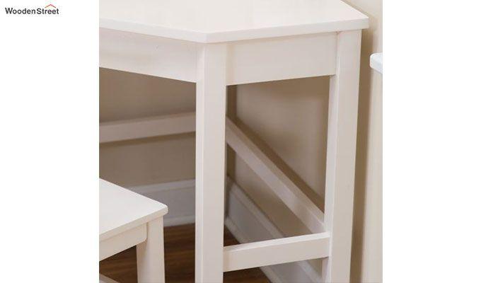 Athena Corner Desk and Reversible Hutch (White Finish)-7