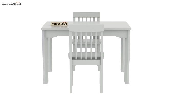Daffy Kids Table With Chair Set (White Finish)-4