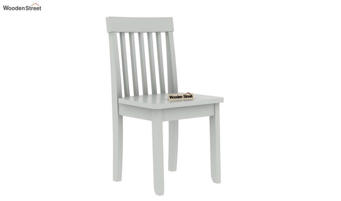 Daffy Kids Table With Chair Set (White Finish)-7