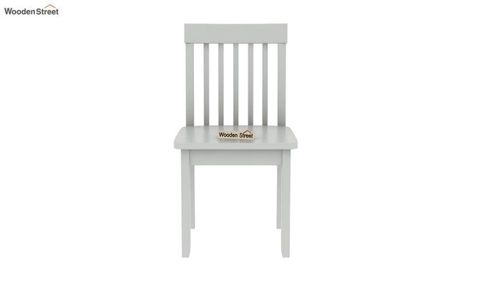 Daffy Kids Table With Chair Set (White Finish)-8