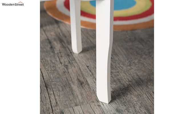 Daffy Kids Table With Chair Set (White Finish)-6