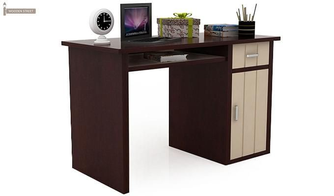 Deverick Kids Study Table (Mahogany Finish)-1