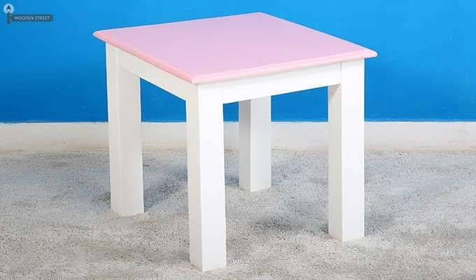 Tinker Kids Study Table (Pink Color)-3