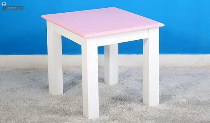 Tinker Kids Study Table (Pink Color)-5