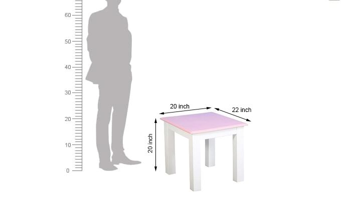Tinker Kids Study Table (Pink Color)-11