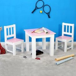 Tinker Kids Study Table (Pink Color)