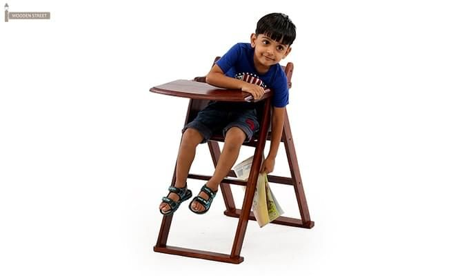 Donald Kids Study Table (Teak Finish)-4