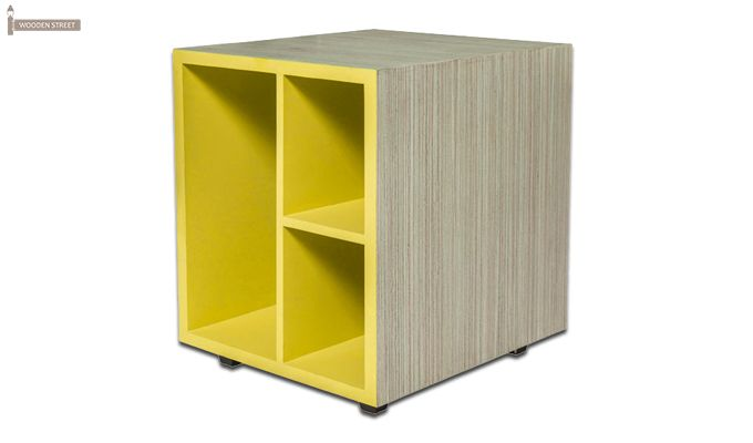 Zini Kids Study Table (Yellow)-4
