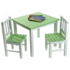 Tinker Kids Study Table (Green Color)