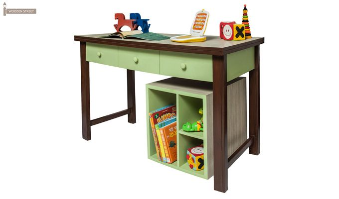 Zini Kids Study Table (Green)-1