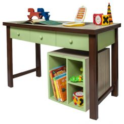 Zini Kids Study Table (Green)