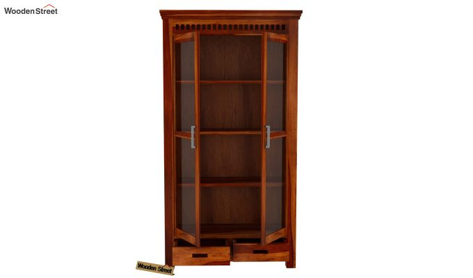 Adolph Kitchen Cabinet (Honey Finish)-5