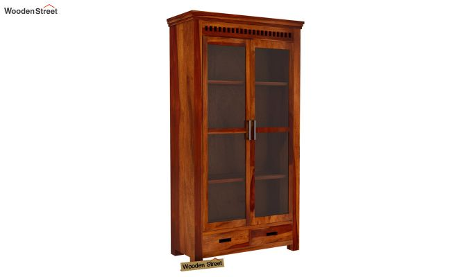 Adolph Kitchen Cabinet (Honey Finish)-6