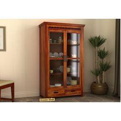 Adolph Kitchen Cabinet (Honey Finish)