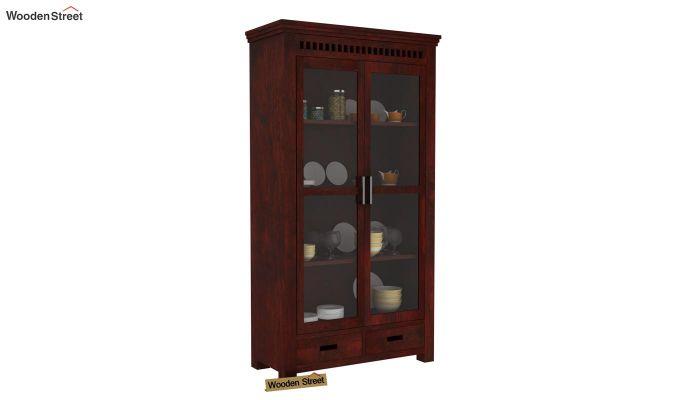 Adolph Kitchen Cabinet (Mahogany Finish)-1