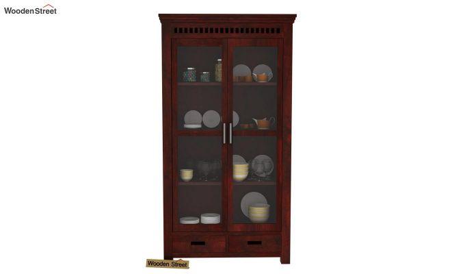 Adolph Kitchen Cabinet (Mahogany Finish)-2