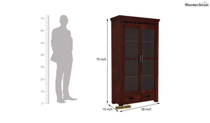 Adolph Kitchen Cabinet (Mahogany Finish)-6