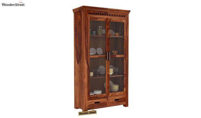 Adolph Kitchen Cabinet (Teak Finish)-1