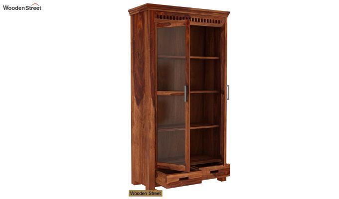 Adolph Kitchen Cabinet (Teak Finish)-3