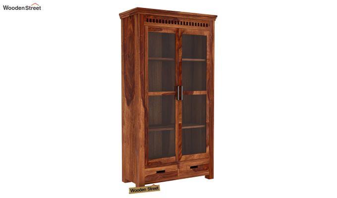 Adolph Kitchen Cabinet (Teak Finish)-5