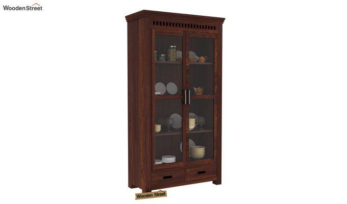 Adolph Kitchen Cabinet (Walnut Finish)-1