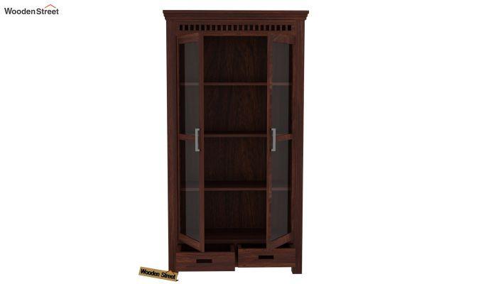 Adolph Kitchen Cabinet (Walnut Finish)-4